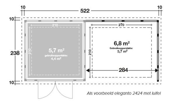 tuinhuis-eleganto-2724-lounge-wit